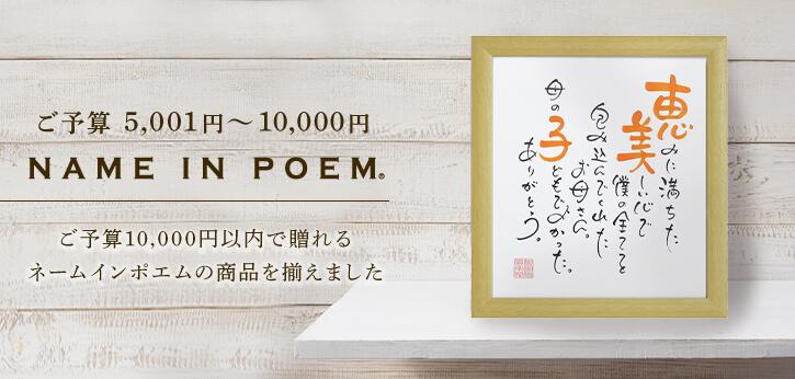 〜5,001円〜10,000円 (税込)