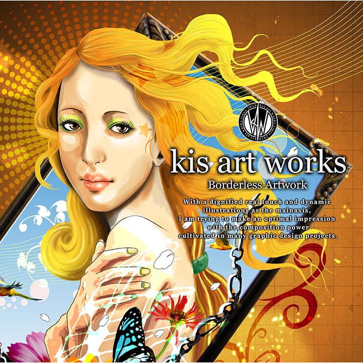 イラストレーター / グラフィックデザイナーのkis(キス)さんのオリジナル商品